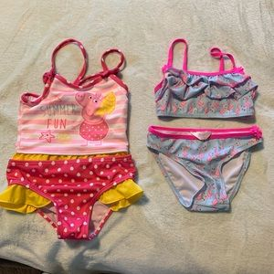 Other - Toddler girl swim suit 3T